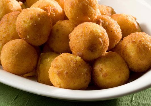 Bolitas de patata y jamón