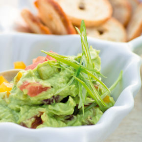 Receta salsa guacamole