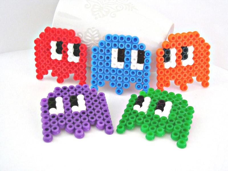 Comecocos - Pacman con Hama Beads o Pyssla