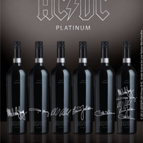 AC/DC Platinum, el vino con más rock del mercado