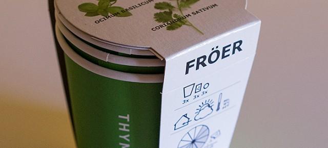 Cultiva tus especias con FRÖER en IKEA