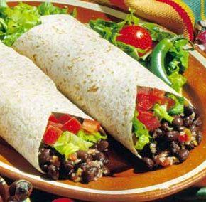 Burritos Mexicanos con carne picada