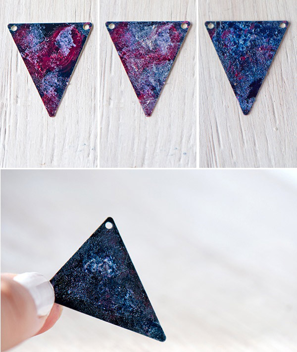 Tutorial DIY Collar Galaxia