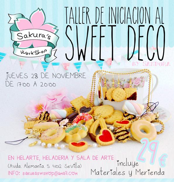 Taller de iniciación al Sweet Deco por Sakura's Workshop