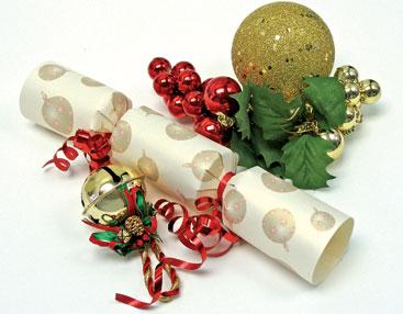 Crackers de Navidad