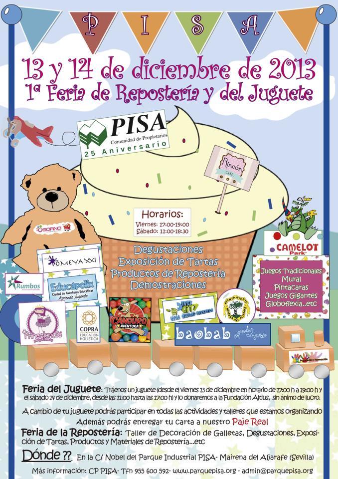 1ª Feria de repostería y del juguete de PISA SEVILLA