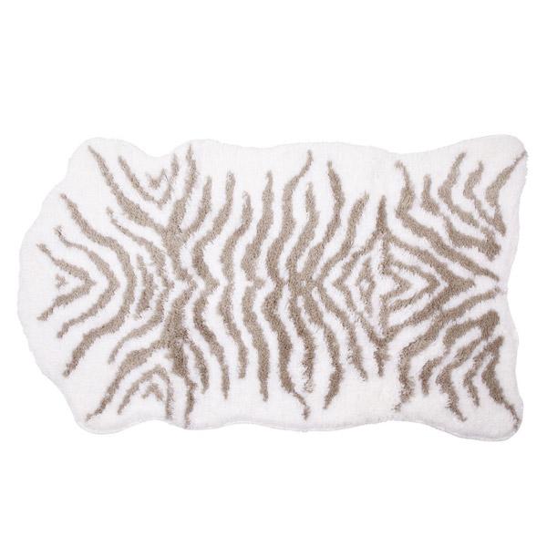 Alfombra de baño cebra Zara Home