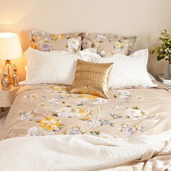 Sabana encimera algodon estampado Zara Home