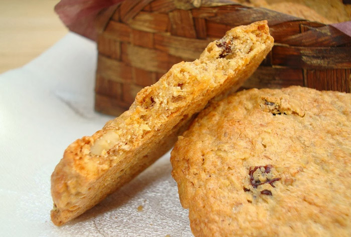 galletas de espelta y manzana