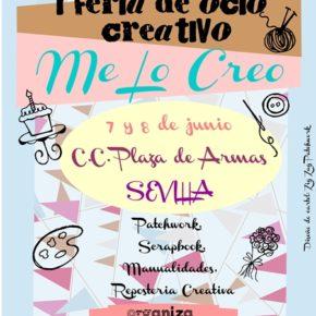 """Visitamos la 1ª feria de ocio creativo """"Me lo creo"""" en Plaza de Armas (Sevilla)"""