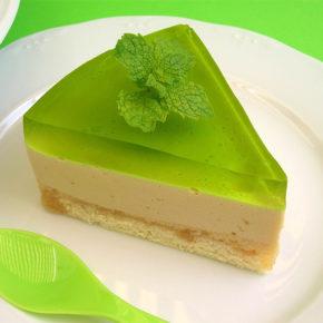 Deliciosa y refrescante tarta de mojito