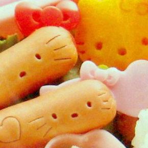 Haz tus propias salchichas de Hello Kitty