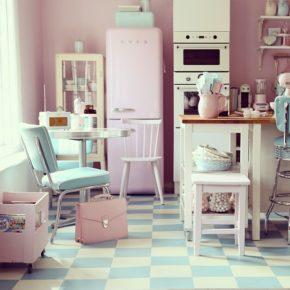 Cocinas vintage de los años 50