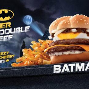 La hamburguesa BATMAN en el McDonalds de Hong Kong