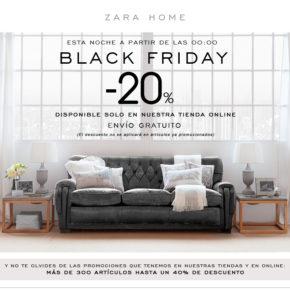 Black Friday en Zara Home