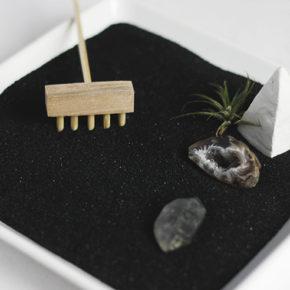 Construye tu propio mini jardín Zen