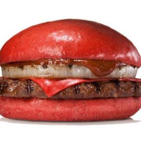 Burger King Japón ahora también ofrece hamburguesas rojas