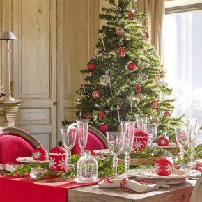 Consejos de cómo decorar la mesa en Navidad