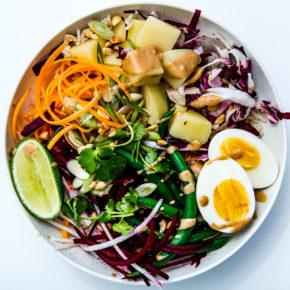 ¿Qué es y cómo se prepara la ensalada Gado Gado?
